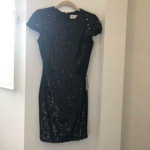 Black sequin Dress The Population dress
